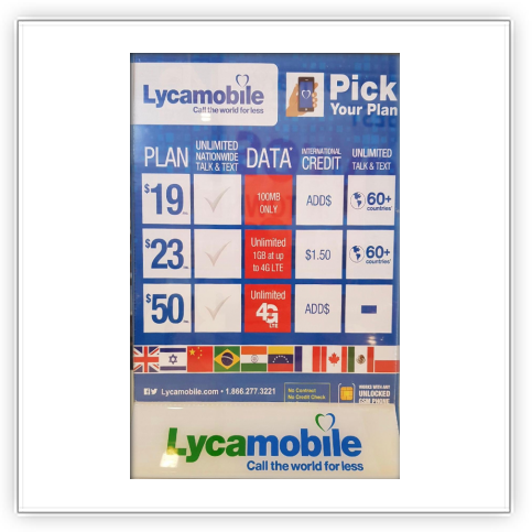 check lycamobile number